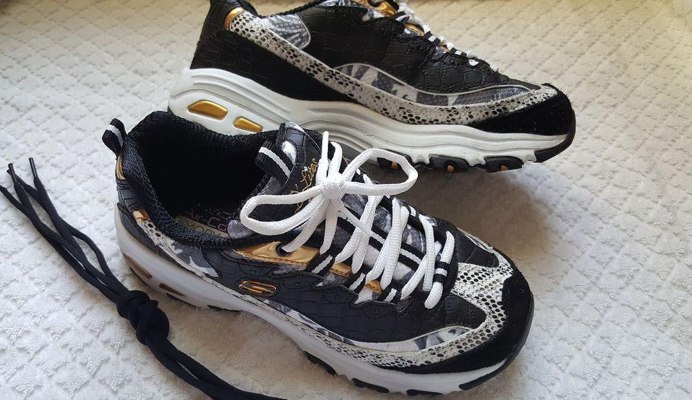 4bdcc75fd264 Skechers Women s D Lites Runway Ready Sneaker Size 7 Air Cooled Memory Foam   Skechers  LowTop
