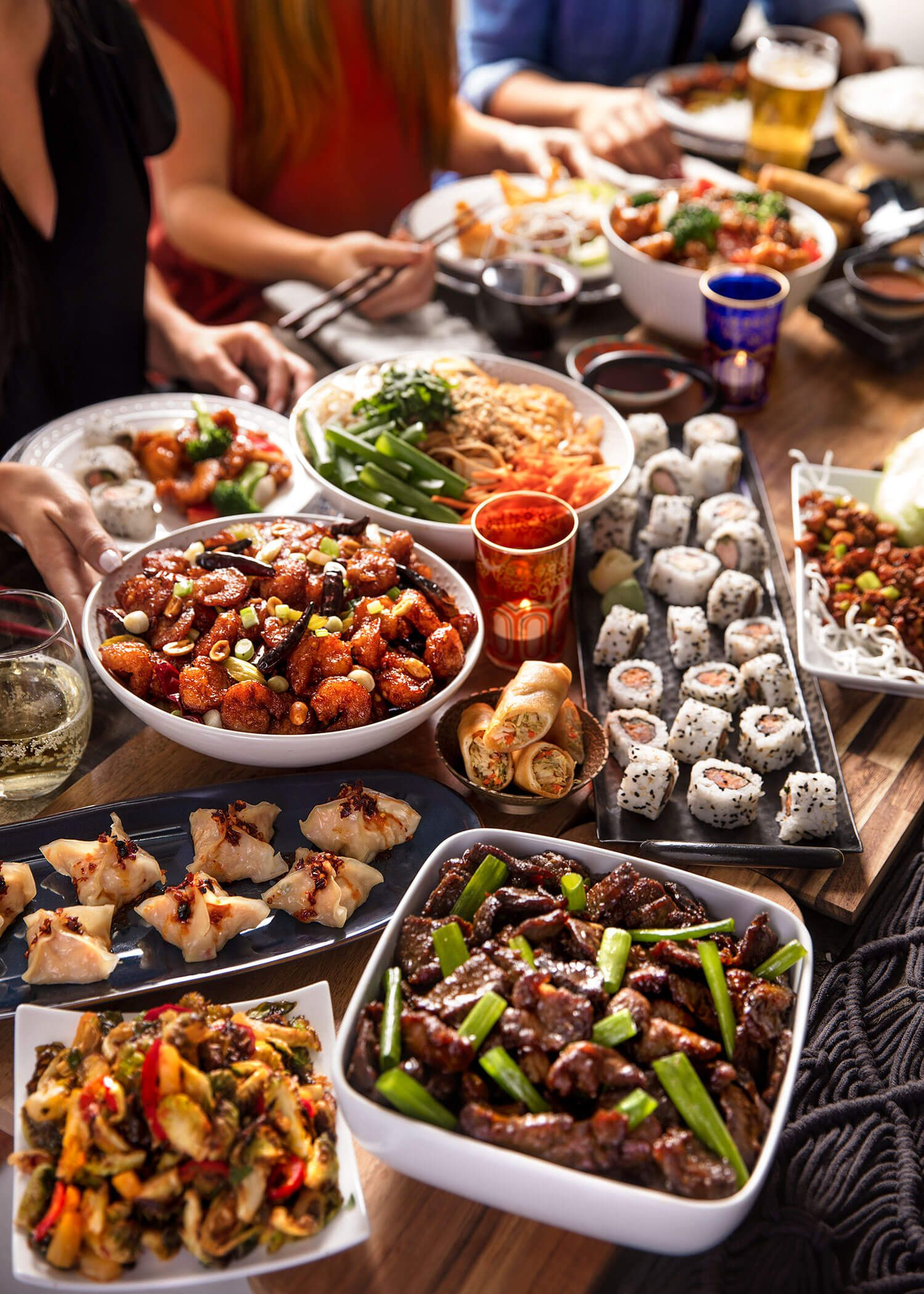 Hosting The Perfect Dinner Party Perfect Dinner Party Party Food Menu Sushi Dinner