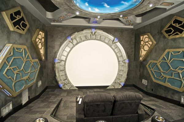 stargate home theatre design - Bing Images | Decor For The Geek Home