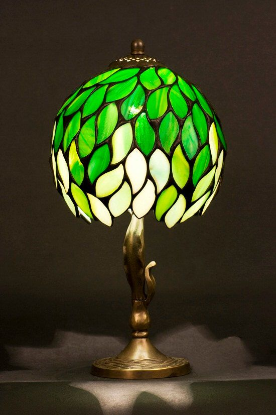 Night Light Stained Glass Lamp Table Lamp Table Decor Desk Lamp