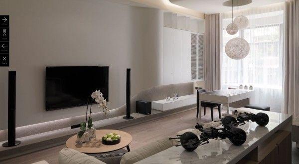 Modern Livingroom Ideas White Themed Modern Living Room Appears