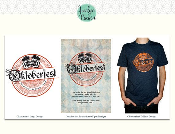 Oktoberfest Party Bundle // DIY Oktoberfest Invitations // DIY Oktoberfest // October Beer Fest Invites