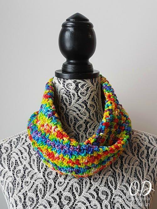 Chasing Rainbows Cowl | Arco iris, Iris y Arco