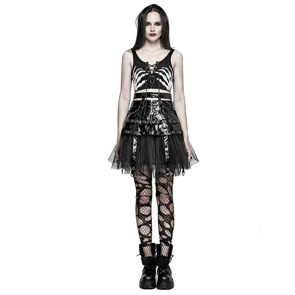 94225e88d8189 Steampunk Gothic Women's Sexy Crop Top | Products | Steampunk ...