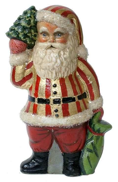 Vaillancourt 'American Santa in Red & Gold' Figurine