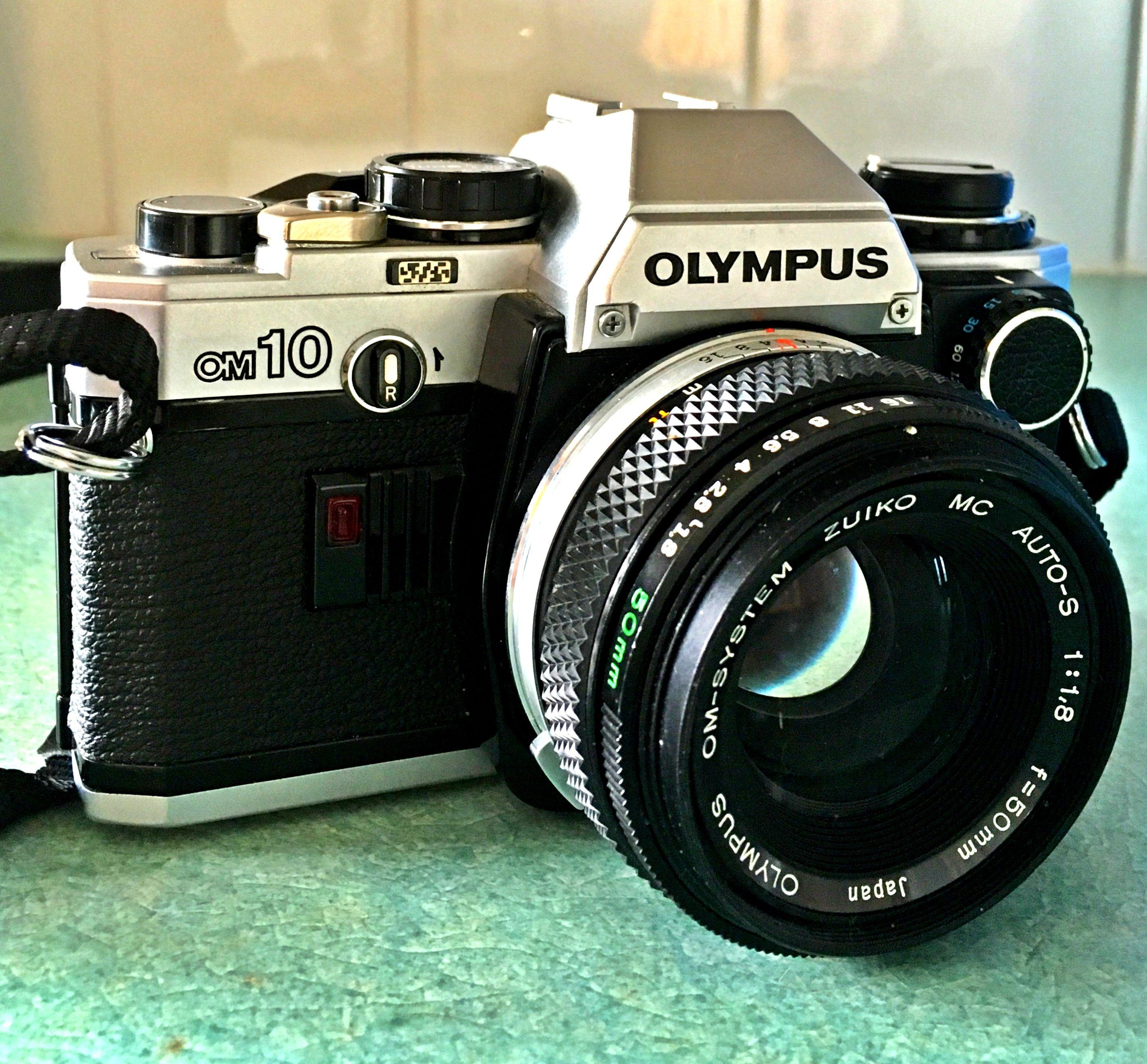 my olympus om10 with manual adapter classic cameras pinterest rh pinterest com Olympus OM10 SLR Film Camera Olympus OM10 Camera