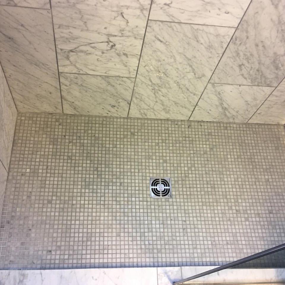 Carrara Carrera Venato Marble Tile 5 8 Squares Polished Marble Square Shower Floor Shower Floor Tile