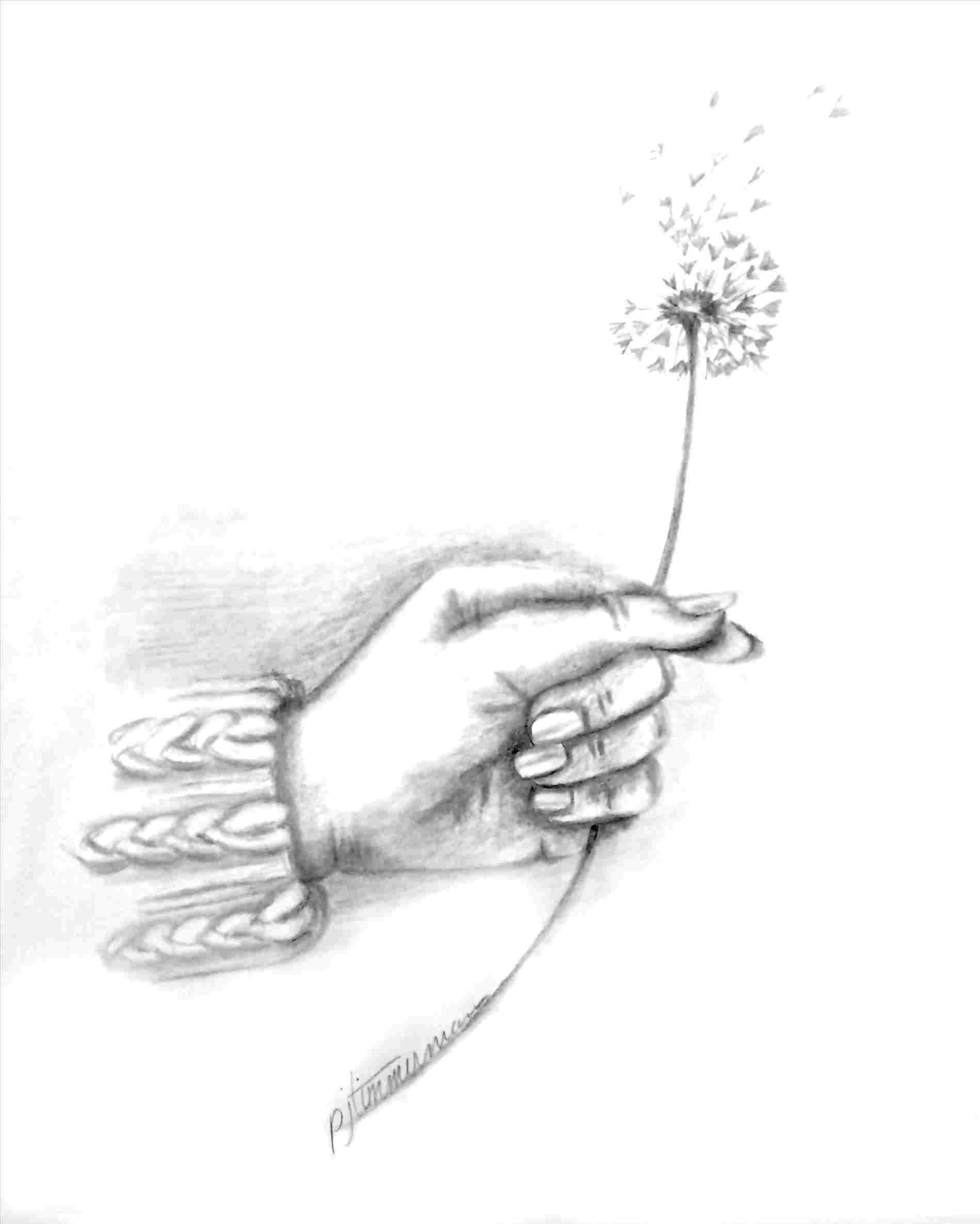 Image Result For How To Draw Hands Step By Step Easy How To Draw Hands Holding Hands Drawing Flower Drawing