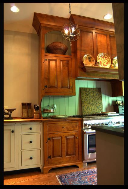 mid ohio farm house collected style painted and curly maple kitc diy kitchen decor on farmhouse kitchen maple cabinets id=62211