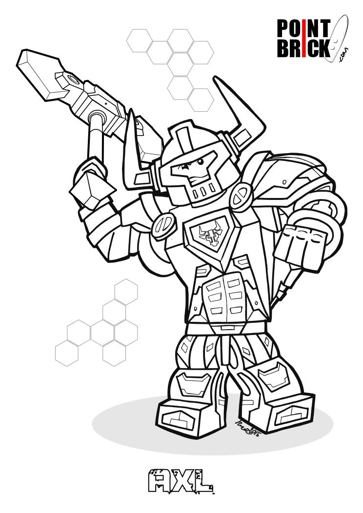 disegni da colorare lego nexo knights nexo knights lego coloring pages lego for kids. Black Bedroom Furniture Sets. Home Design Ideas