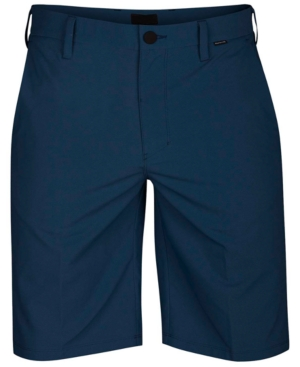 """Hurley Dri-FIT 21/"""" Chino Shorts Blue Force New"""