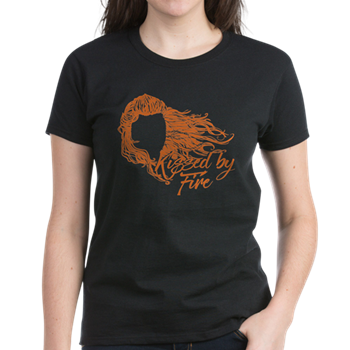 84c5050f2 GOT Kissed By Fire T-Shirt - Ygritte, red hair, redhead, wildling, Game Of  Thrones