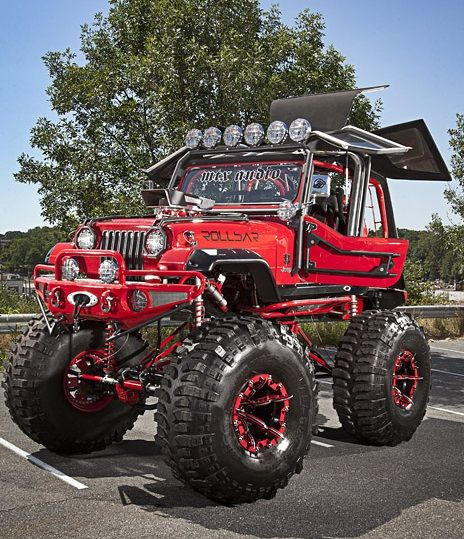 Tom Bostic's Jeep that was featured at the 2014 Ocean City Jeep Week