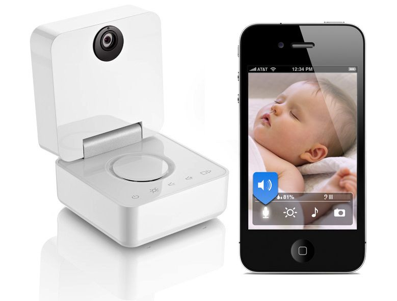 Smart Baby Monitor Works with iPhone or iPad. The Only