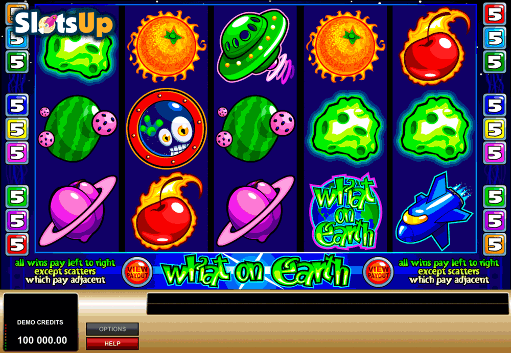 What On Earth Slot by Microgaming Play FREE at SlotsUp