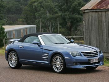 Chrysler Crossfire Srt6 Roadster Au Spec Zh 2005 06 Chrysler