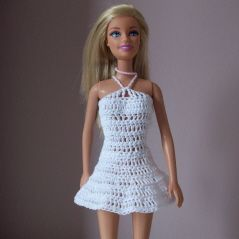Mini or long crochet fashion doll dress free crochet pattern mini or long crochet barbie dress free crochet pattern dt1010fo