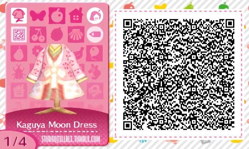 ♡✿Princess Kaguya✿♡ kimono qr code dress acnl studio ghibli