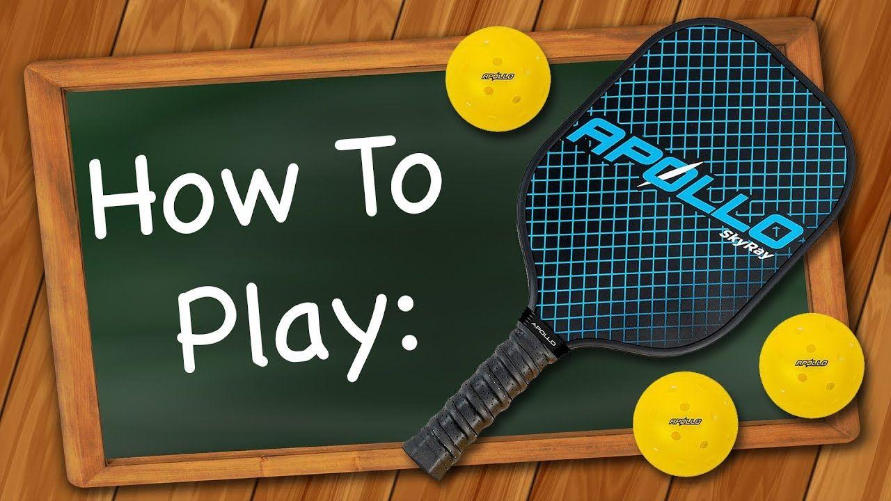 How to Play Pickleball YouTube Pickleball, Pickleball