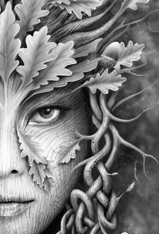 adult pagan colouring pages 3 art green man fantasy art green knight. Black Bedroom Furniture Sets. Home Design Ideas