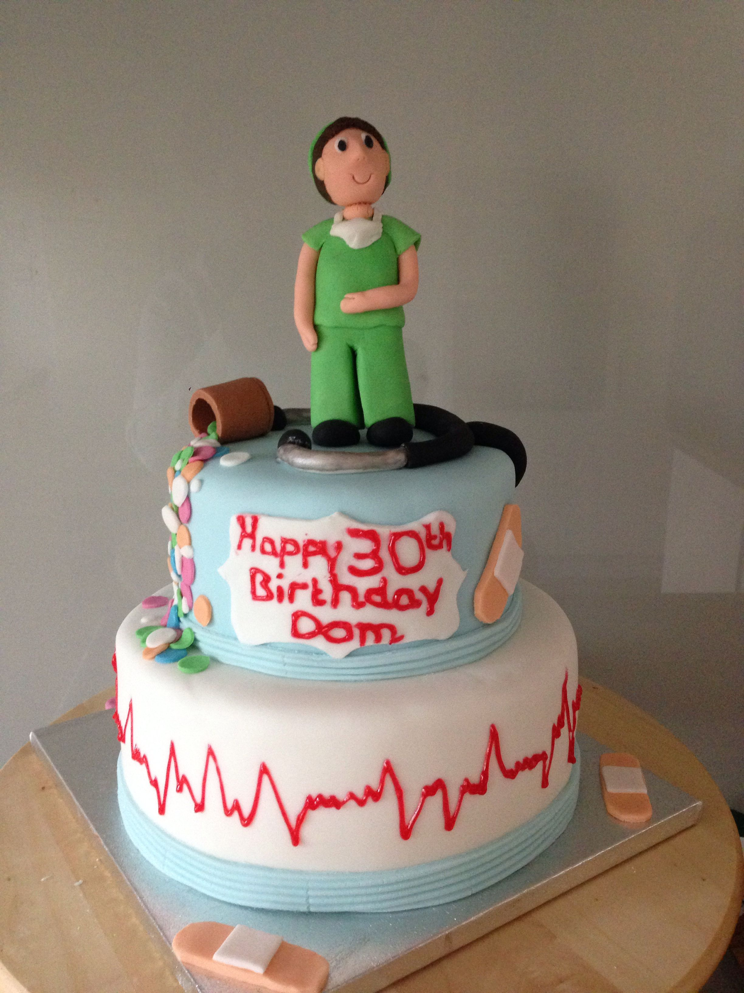 Doctor Cake Birthday Cakes Male Teen