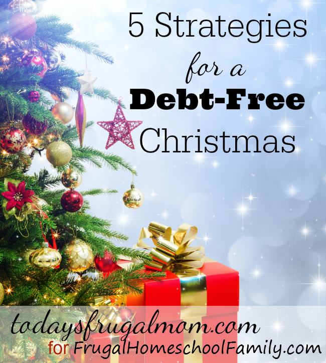 5 strategies for a debt free christmas