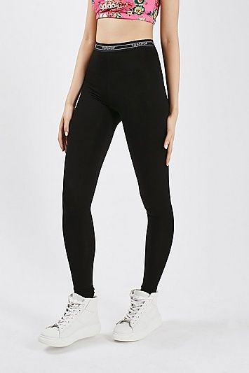 c463fc0963cbc8 TALL Topshop Branded Leggings in 2019 | Products | Topshop leggings ...