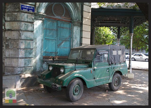 Mazda Jeep The 1960 S 4x4 Used By The Myanmar Military Myanmar