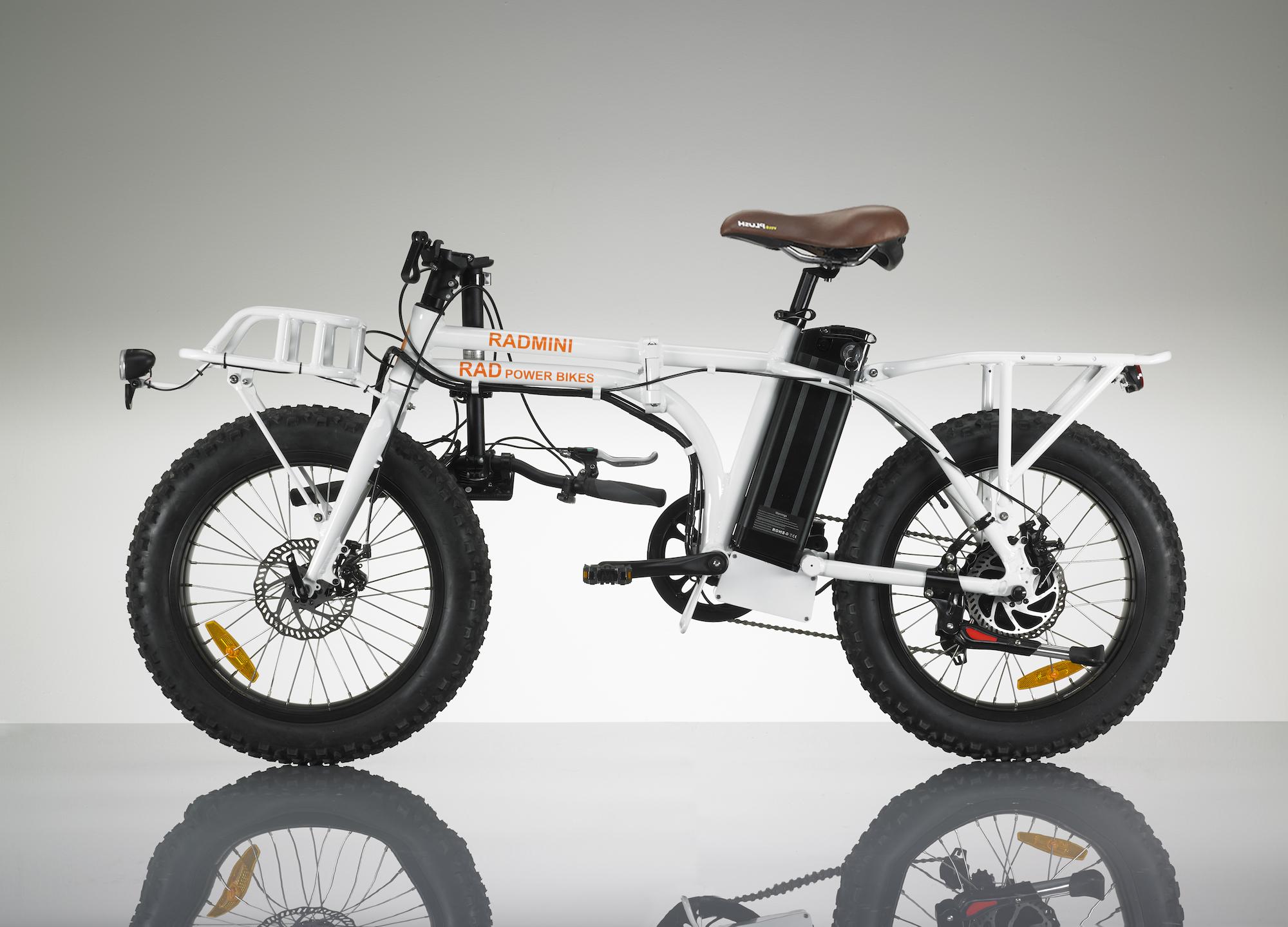 Radmini Electric Folding Fat Bike Rad Power Bikes 6