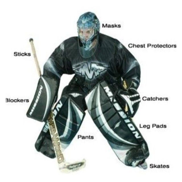 Hockey Goalie Hockey Goalie Goalie Hockey
