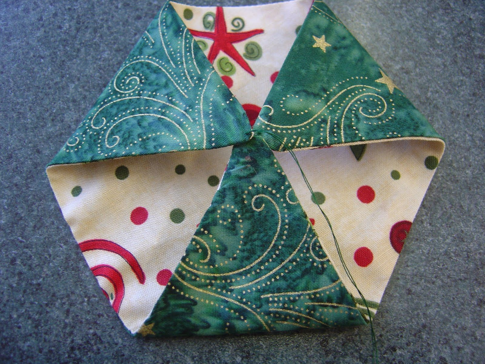 Katrina's Tutorials: Fabric Ornament Number One | Fabric ...