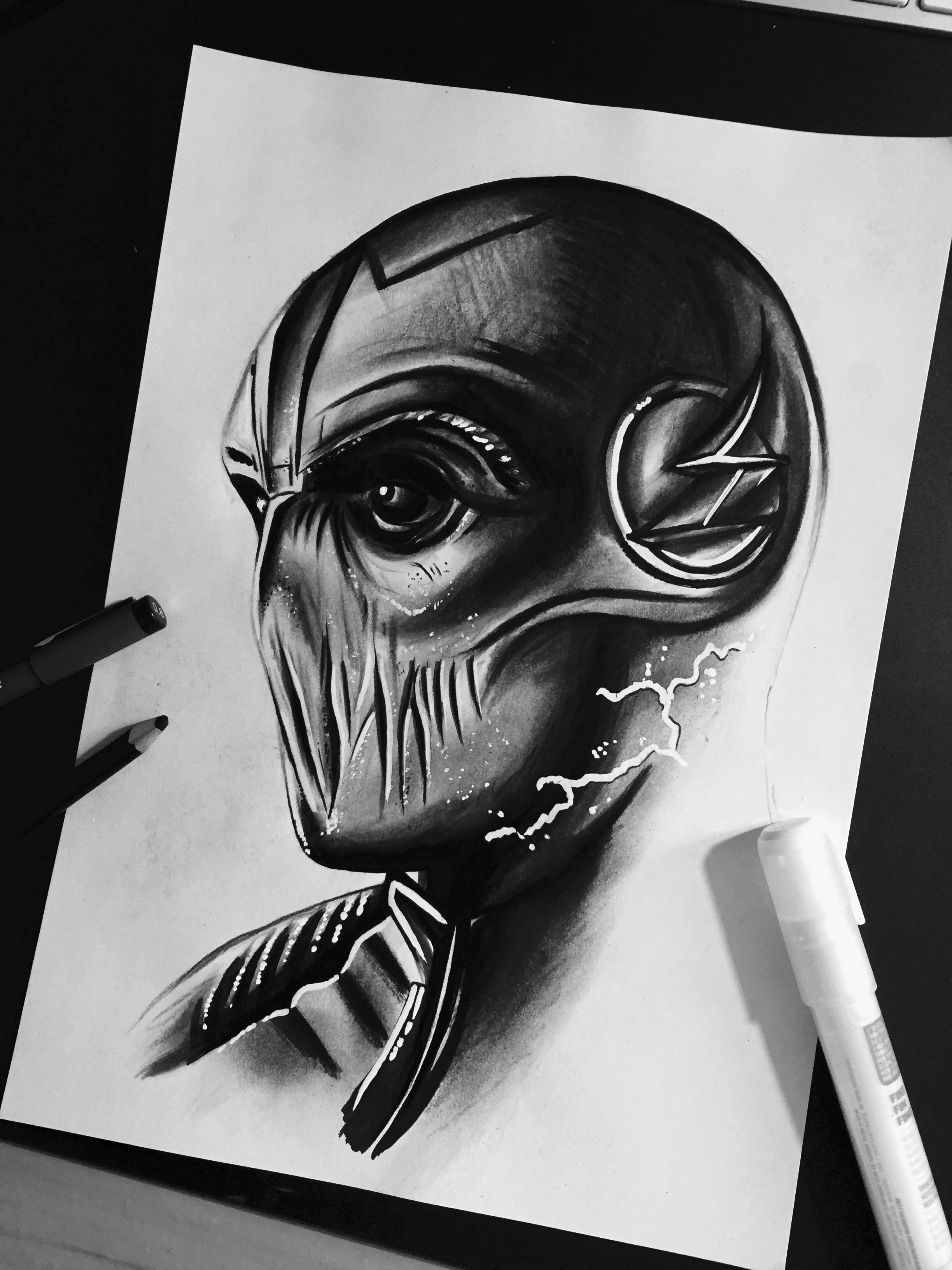 The Zoom Villain Drawing Desenhos Preto E Branco Desenho De