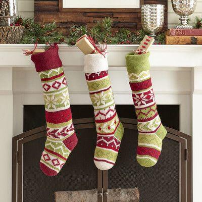 Fairisle Stocking | Christmas | Pinterest