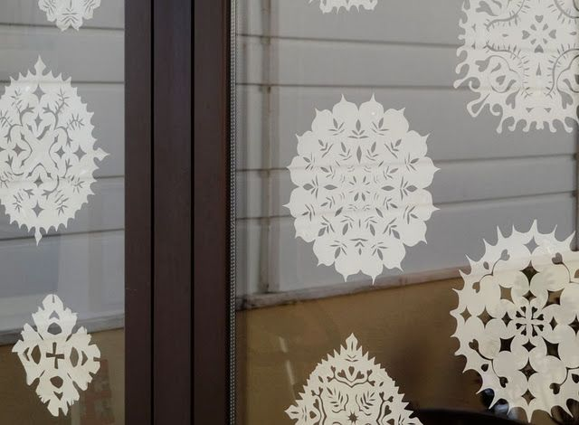 Window lace...