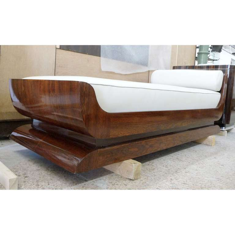 Very Beautiful French Art Deco Daybed 1930s