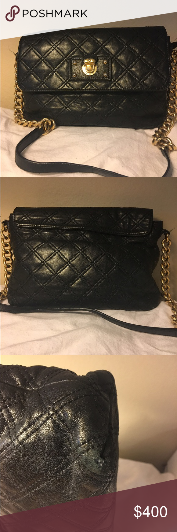 2a2416a225b6 Marc Jacobs Quilted Leather bag