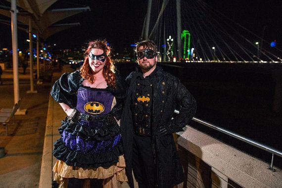 c3ad6ec79f Batgirl Inspired Steampunk Custom Outfit Corset Victorian Batman Cosplay