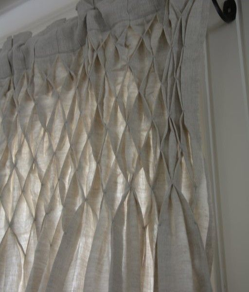 Rideau Nid D Abeille Lin A Sewing Curtains Valance