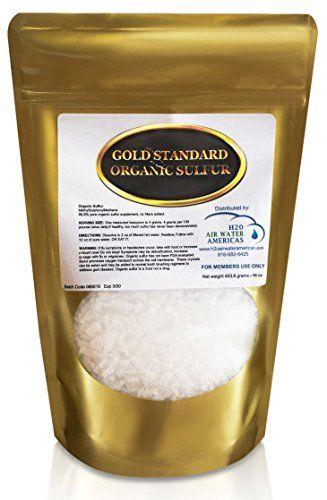 Gold Standard Organic Sulfur Crystals 1lb 999 Pure MSM