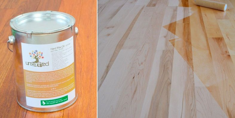 New Voc Free Natural Hard Wax Oil Finish For Wood Floors Cork