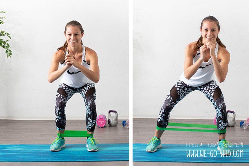 Photo of ᐅ 12 Minibands Übungen für effektives Bauch Beine Po Training