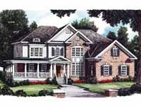 Country Style House Plan 5 Beds 4 Baths 3276 Sq Ft Plan 927 737 Country Style House Plans Southern House Plans Craftsman House Plans