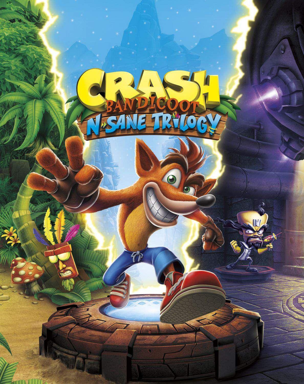 Crash Bandicoot NSane Trilogy Crash bandicoot, Crash
