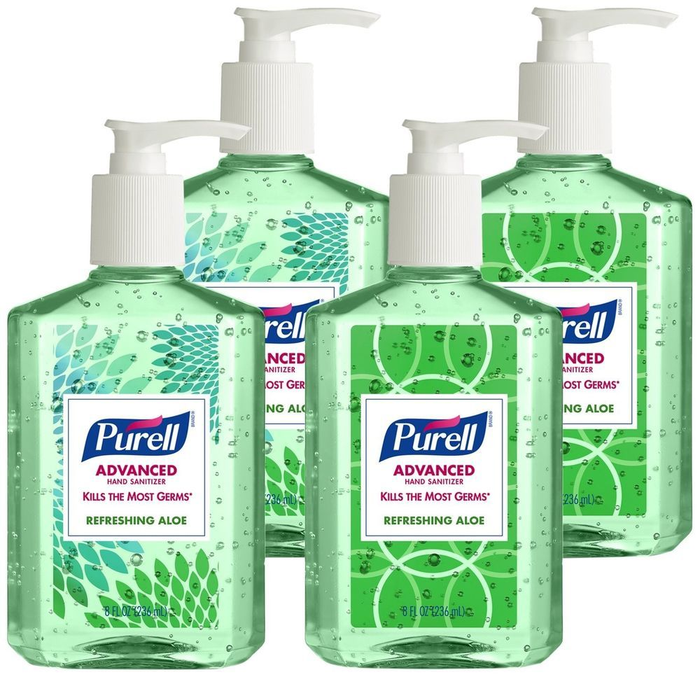 Purell Advanced Hand Sanitizer With Aloe Decorative Collection