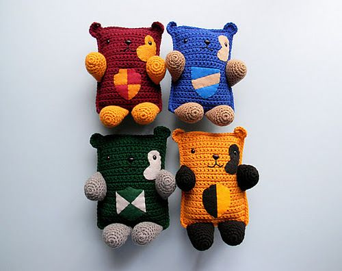 Hogwarts house bears harry potter and the miscellaneous geekery