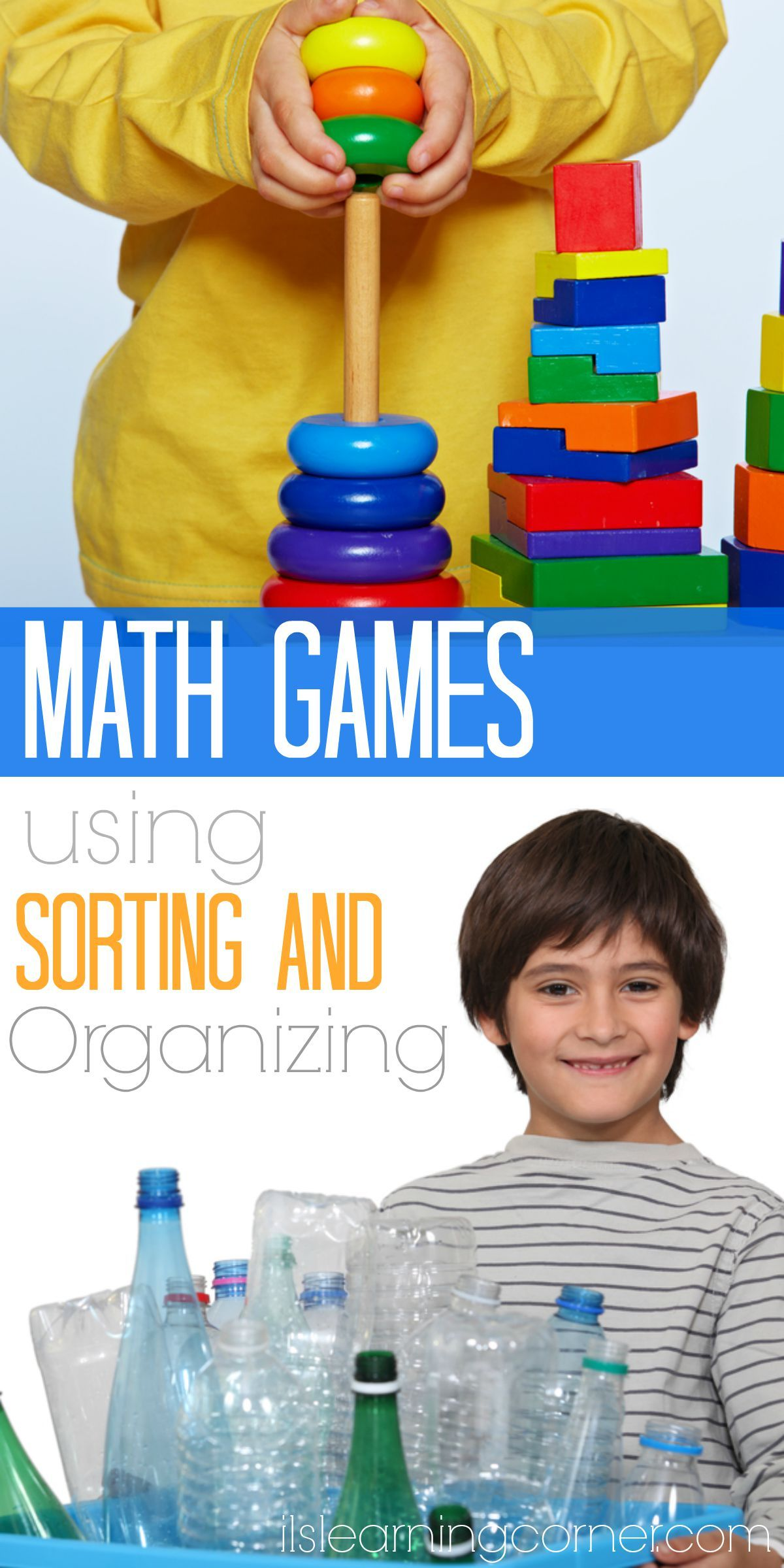 3 Cool Math Games Using Sorting and Organizing Activities