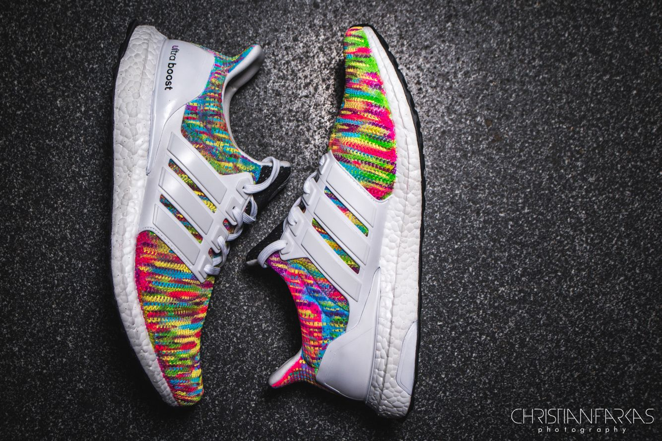 Adidas Ultra Boost Multicolor Custom  bb1e95239