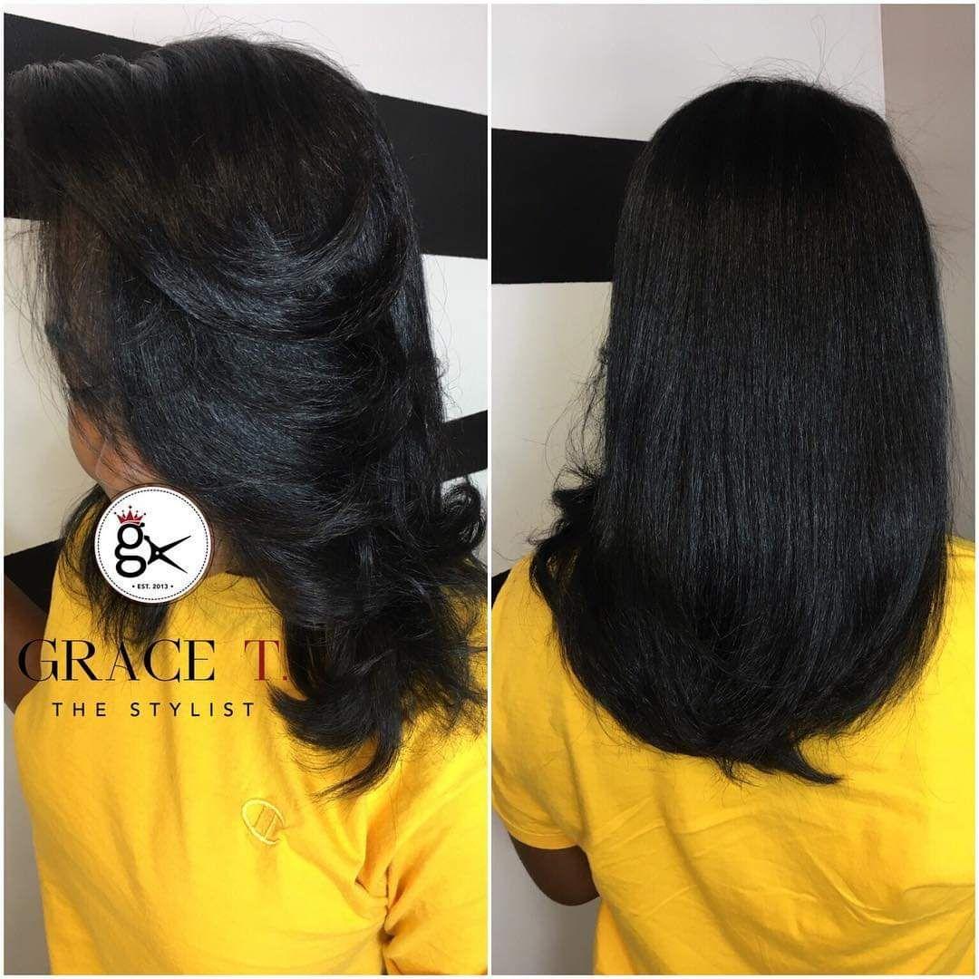 Signature Silk Press By Grace T Artistic Hair Sleek