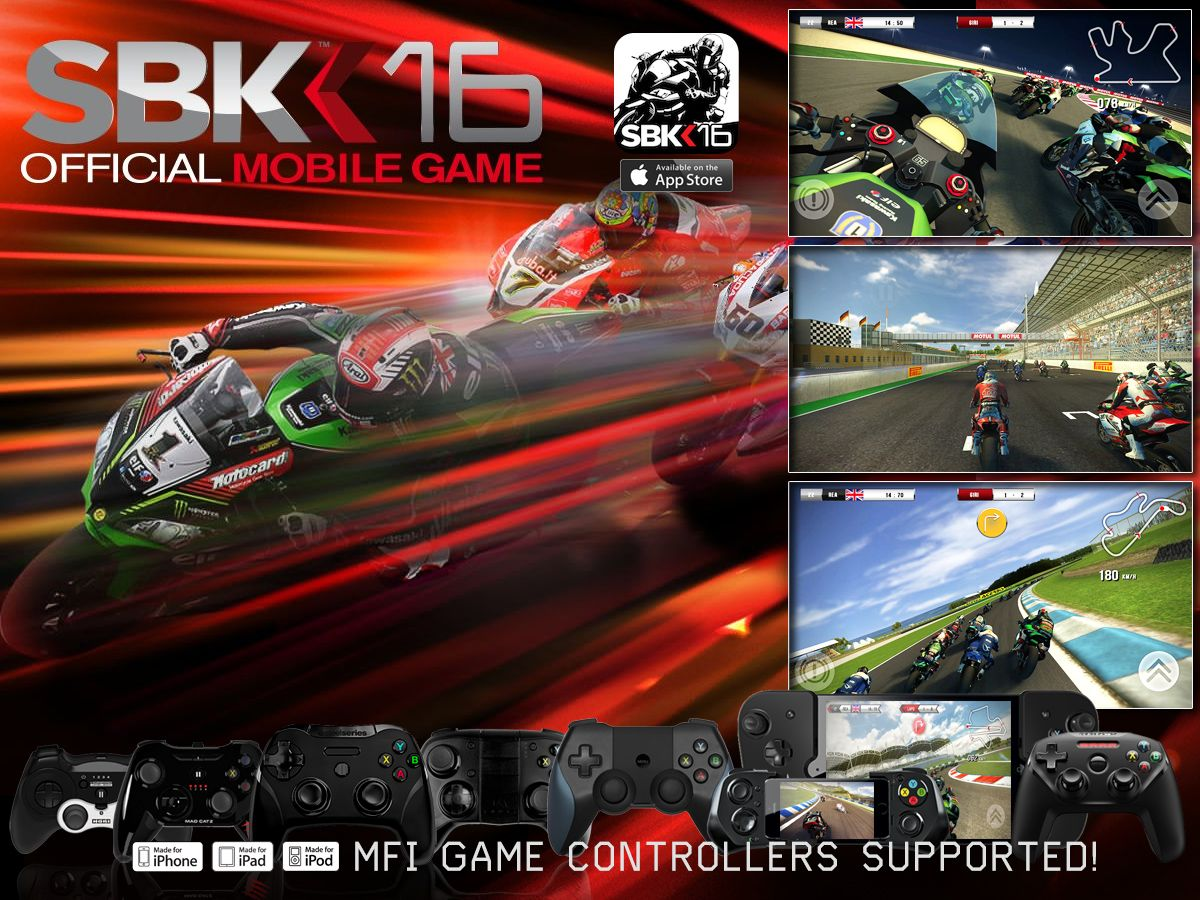 Get your Thumb down ! Great MFi Controller Support & FREE