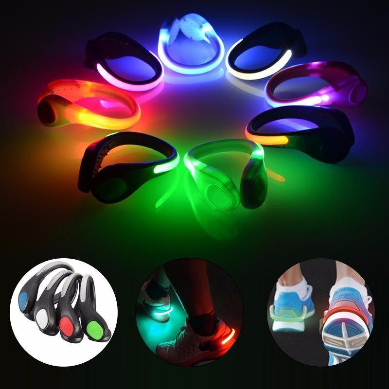 LED Radfahren Clip Bike Shoe Lights Nacht Outdoor Sport Sicherheitswarnlicht hom